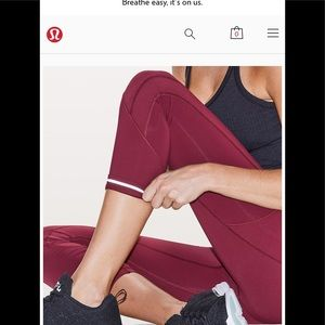 Lululemon All in the right places Tight